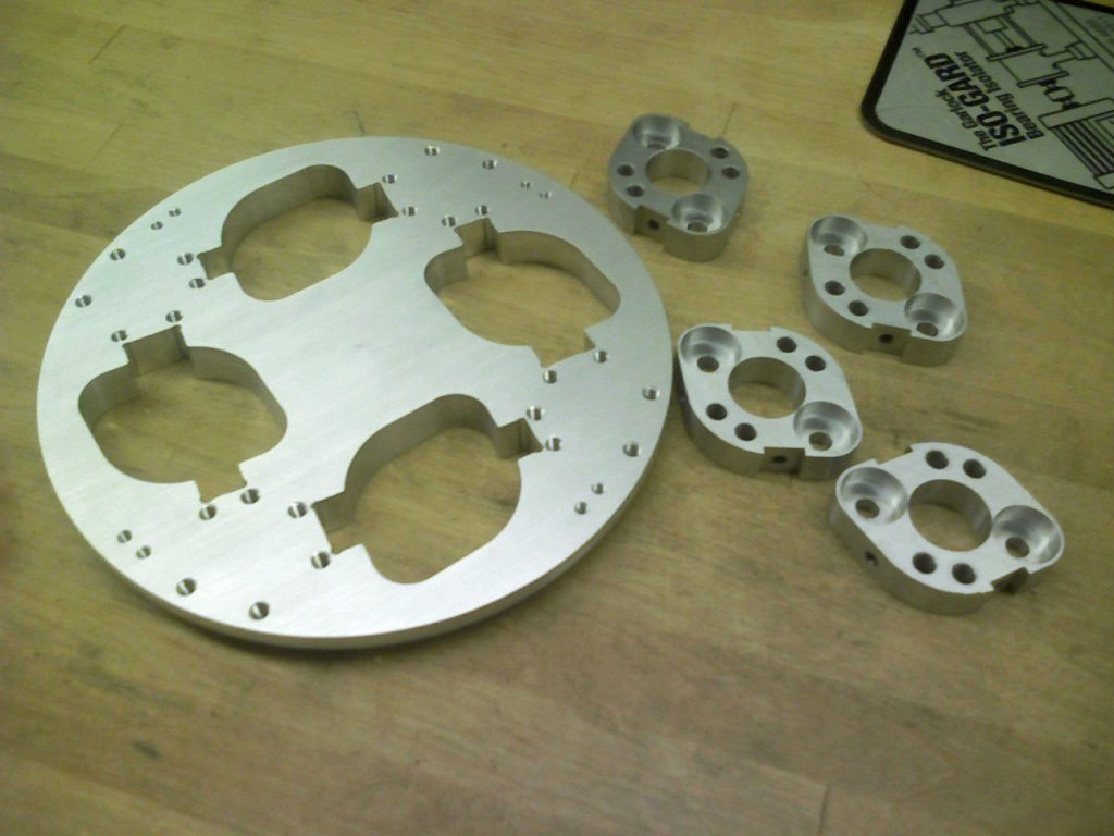 Support plate for a research project, developed in the MechSE Machine Shop.